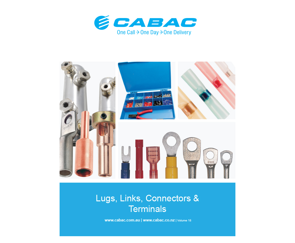 LUGS LINKS TERMINALS CATALOGUE V18