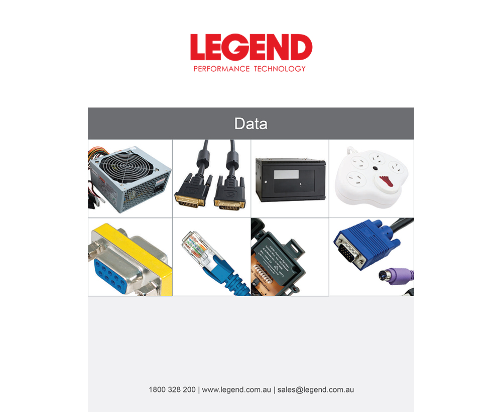 LEGEND DATA CATALOGUE V0117