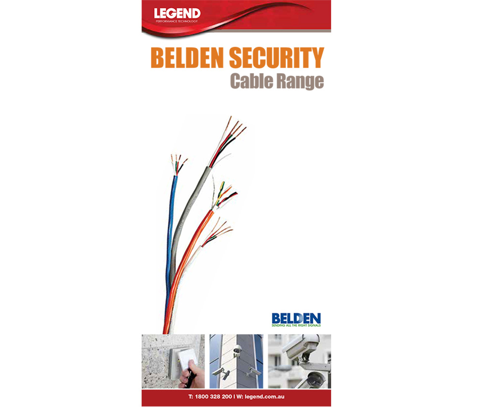 BELDEN CATALOGUE
