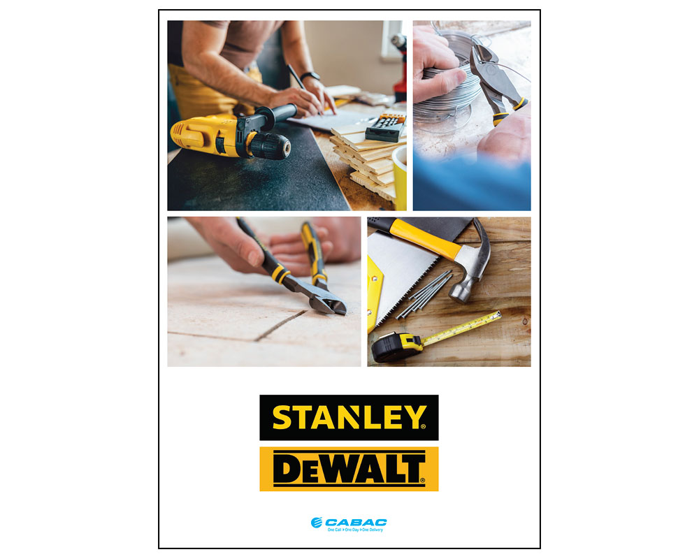 STANLEY DEWALT CATALOGUE
