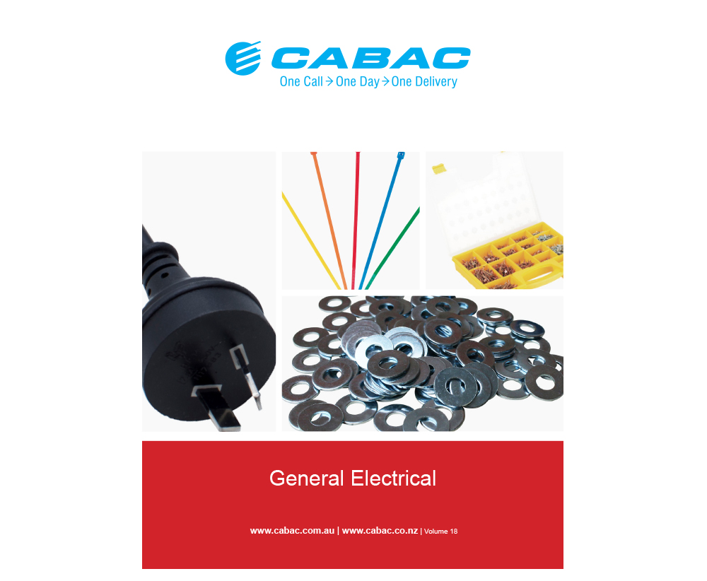 GENERAL ELECTRICAL CATALOGUE V18