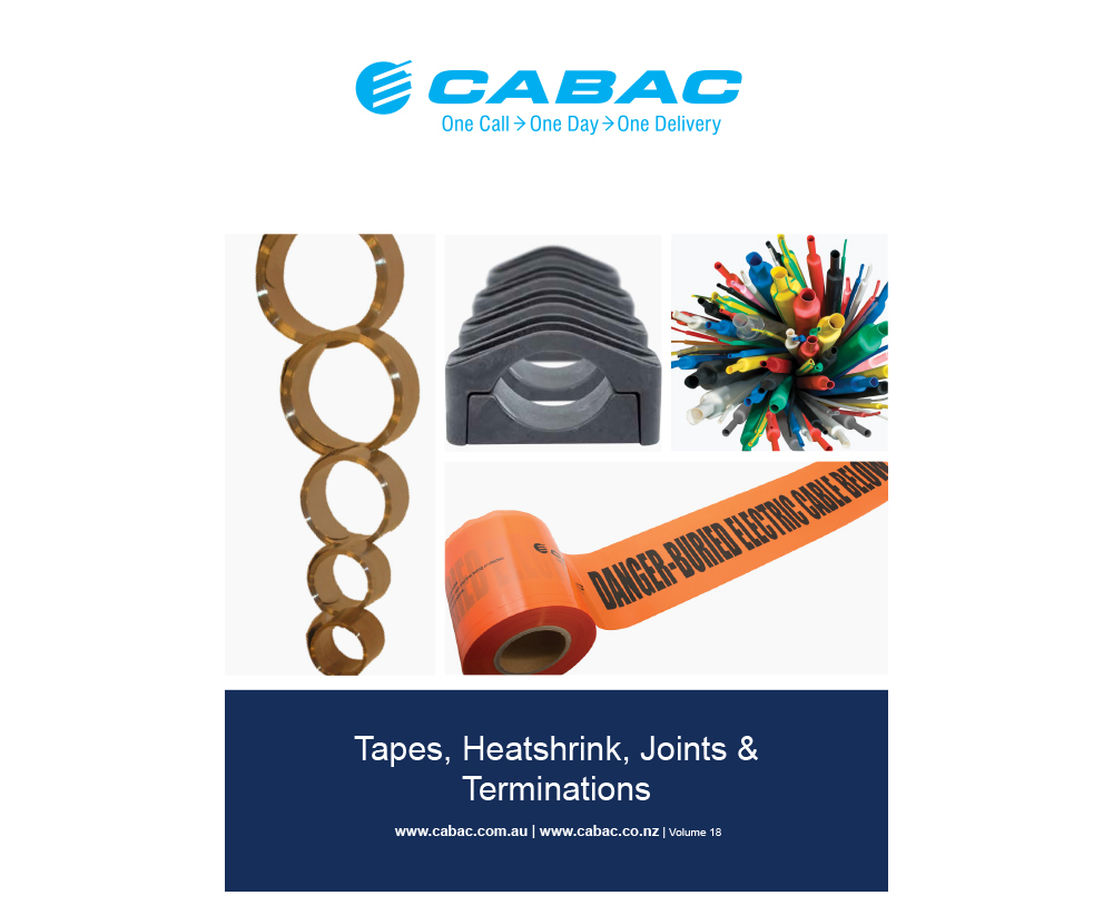 TAPE HS JOINTS TERMINATIONS CLAMPS V18