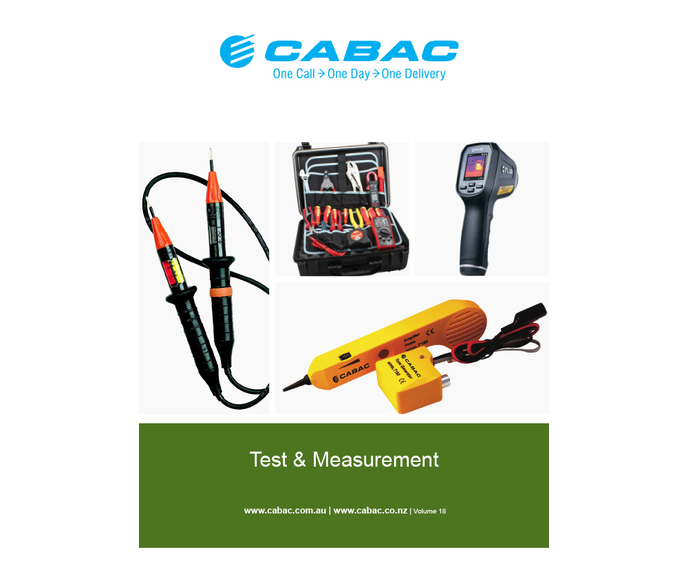 TEST & MEASUREMENT CATALOGUE V18
