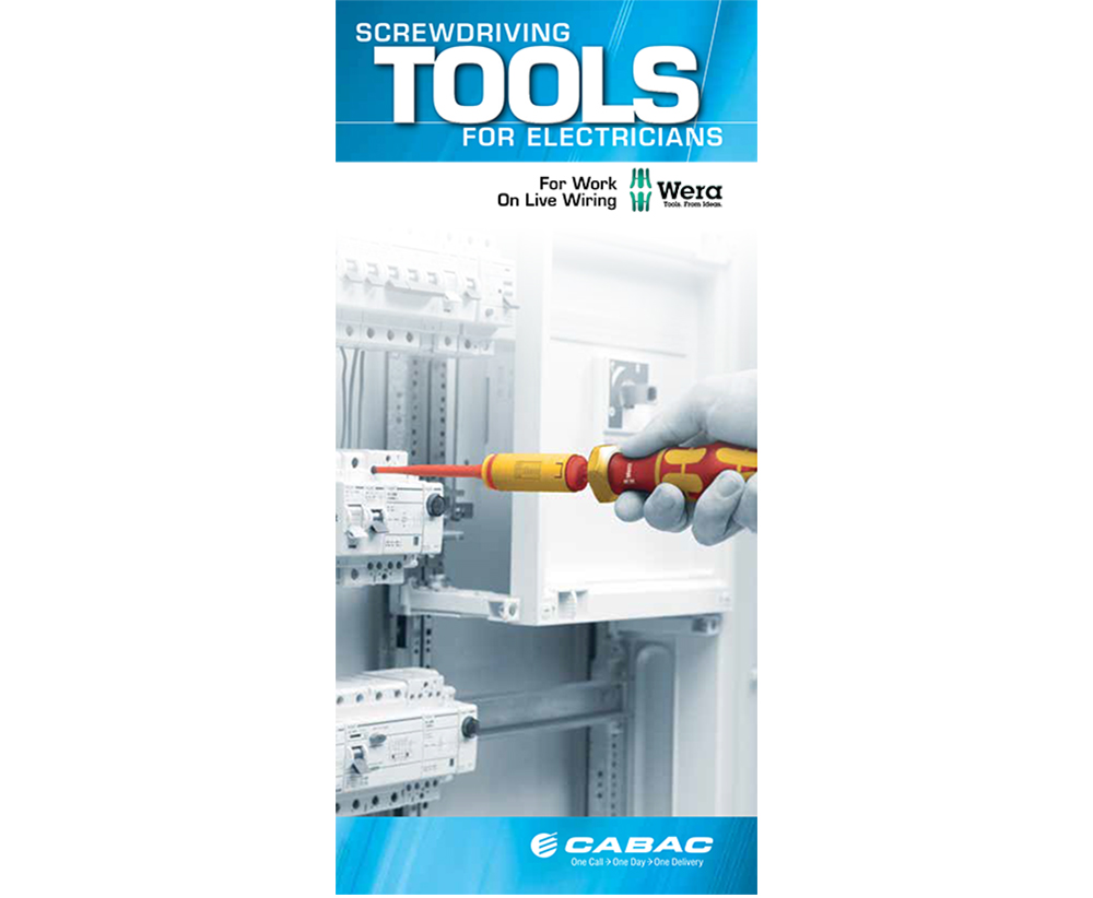 Product Brochures Cabac Electrical Wiring Accessories Products The Wera Screwdriving Tools Brochure Includes A Variety Of Hand And