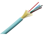 8F INDOOR/OUTDOOR RISER CABLE OM3 AQUA