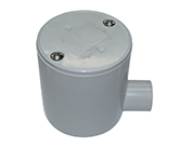 JUNCTION BOX DEEP 25MM 1 WAY ENTRY