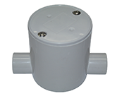 JUNCTION BOX DEEP 20MM 2 WAY ENTRY