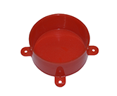 DISPOSABLE LID RED