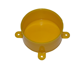 DISPOSABLE LID YELLOW