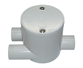 JUNCTION BOX TANG DEEP 20MM Y WAY ENTRY